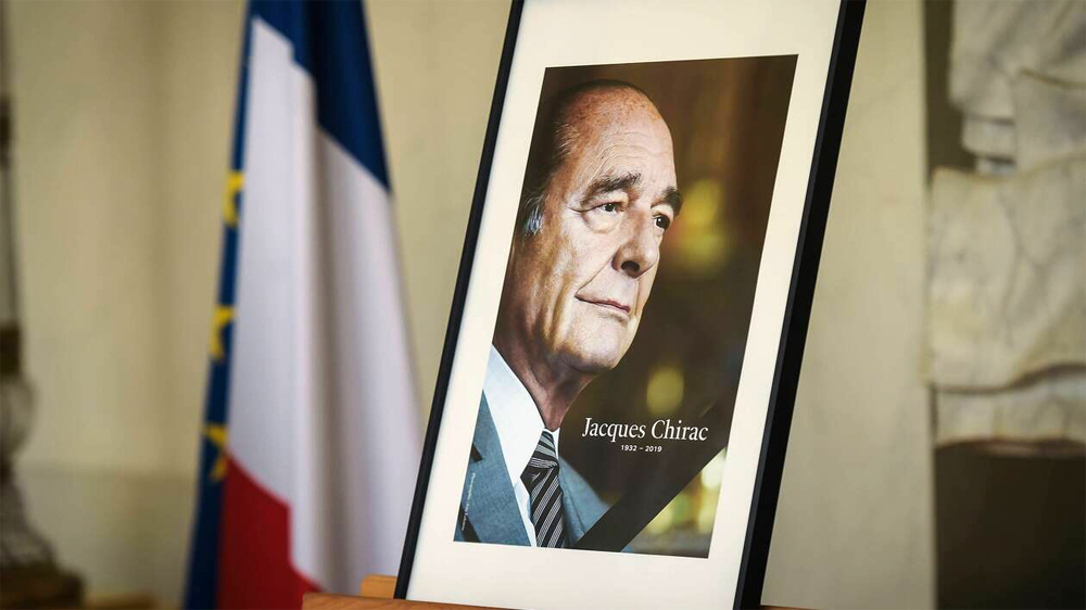 Hommage national à Jacques Chirac