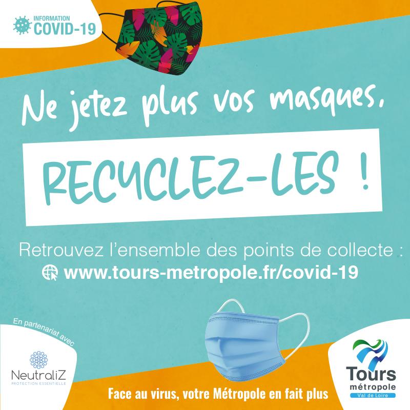 Recyclez vos masques!
