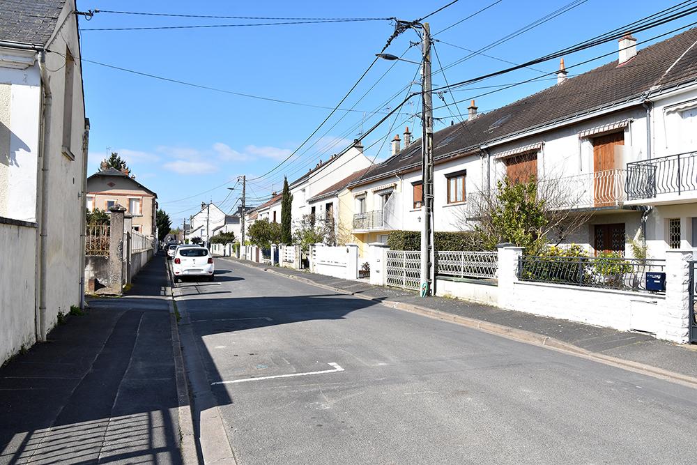 Travaux rue des Sablons