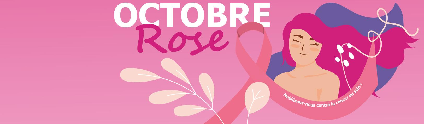 Octobre Rose: mobilisons-nous contre le cancer du sein!