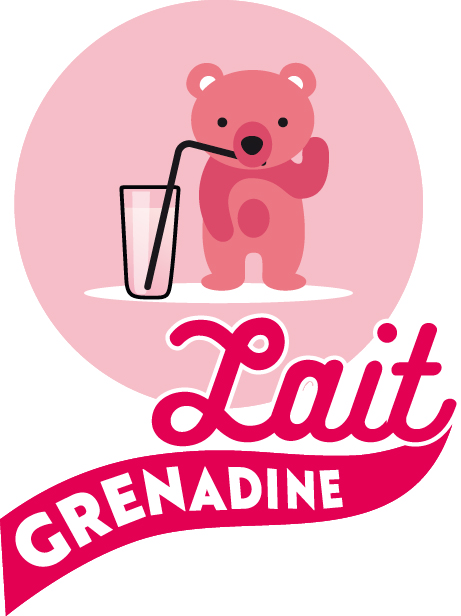 A DISTANCE - Lait Grenadine