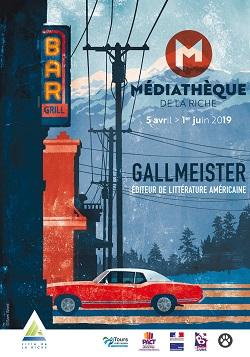 Exposition: Gallmeister, éditeur de littérature américaine